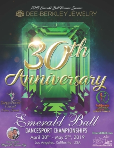 Emerald Ball - Digital Brochure Ad