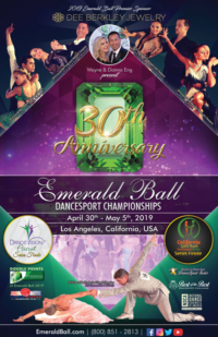 Emerald Ball - Promotional Poster